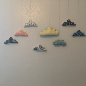 Pillow clouds for nursery