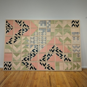 Wood Quilt, 2018
